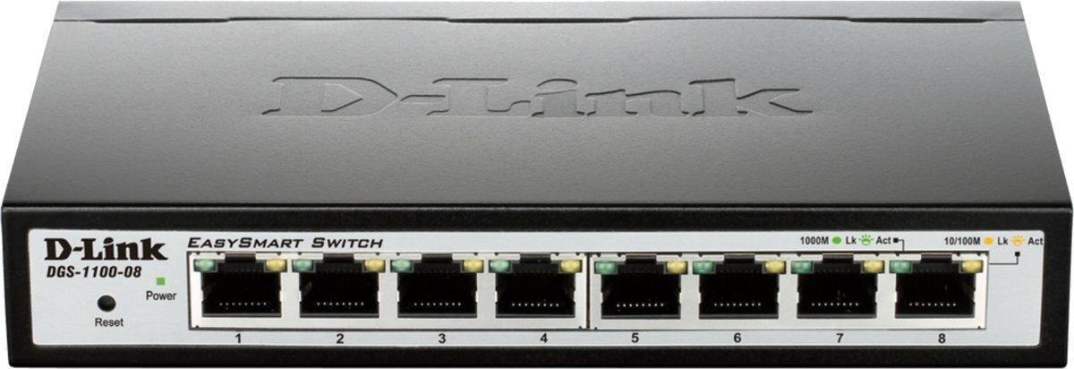 D-Link Switch »8-Port Gigabit Smart Switch DGS-1100-08«