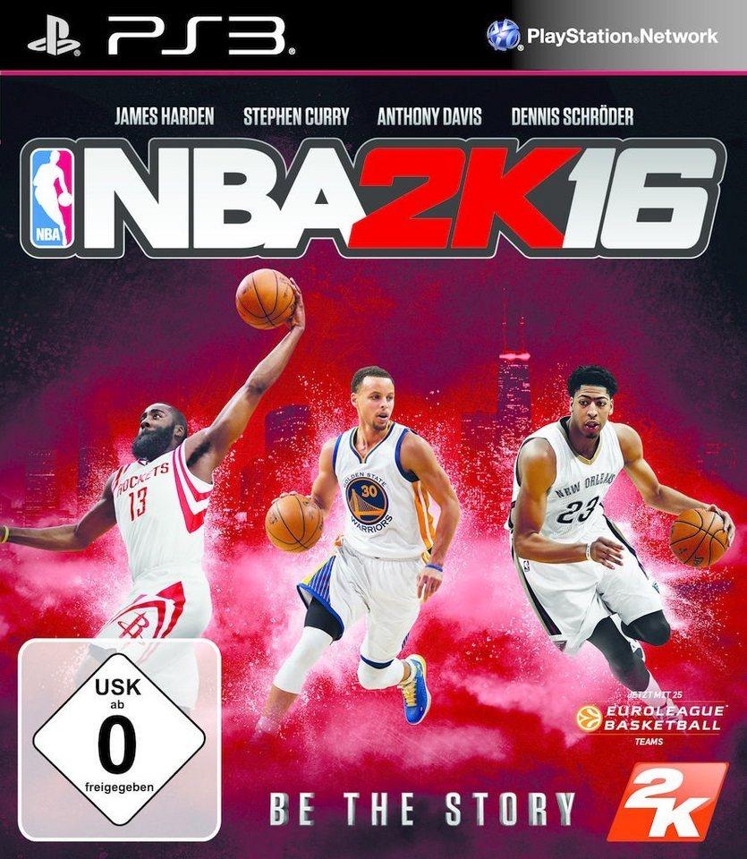 2K Playstation 3 - Spiel »NBA 2K16«