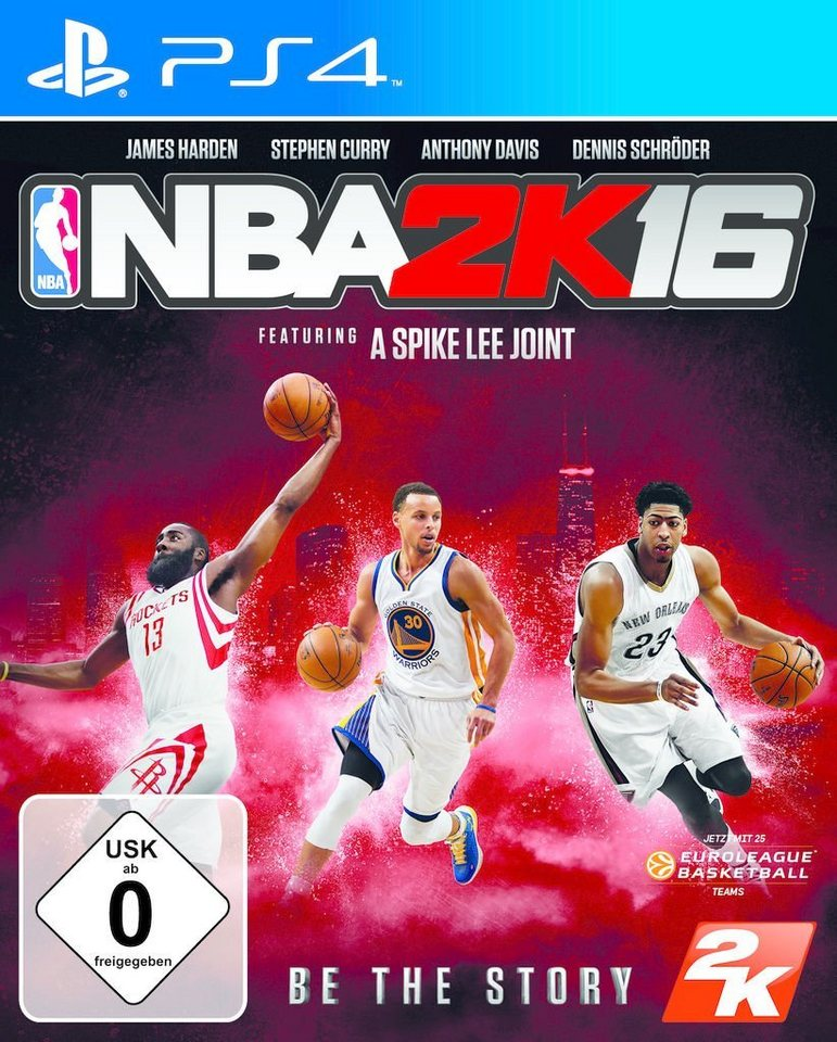 2K Playstation 4 - Spiel »NBA 2K16«