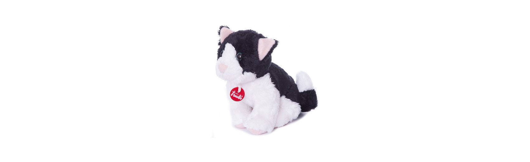 Trudi ni Katze schwarz/weiß 15cm
