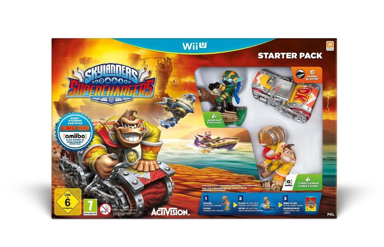 Activision Wii U - Spiel »Skylanders SuperChargers Starter Pack«