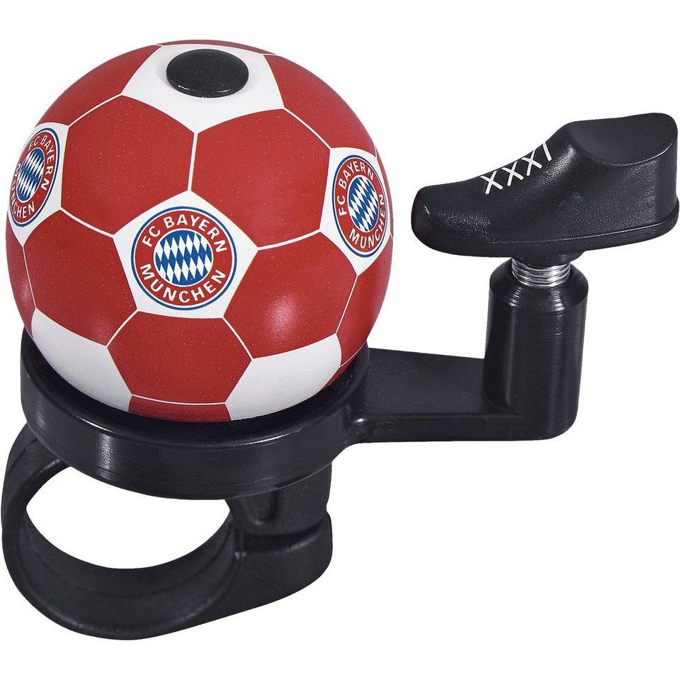 Fahrradklingel FC Bayern München in rot