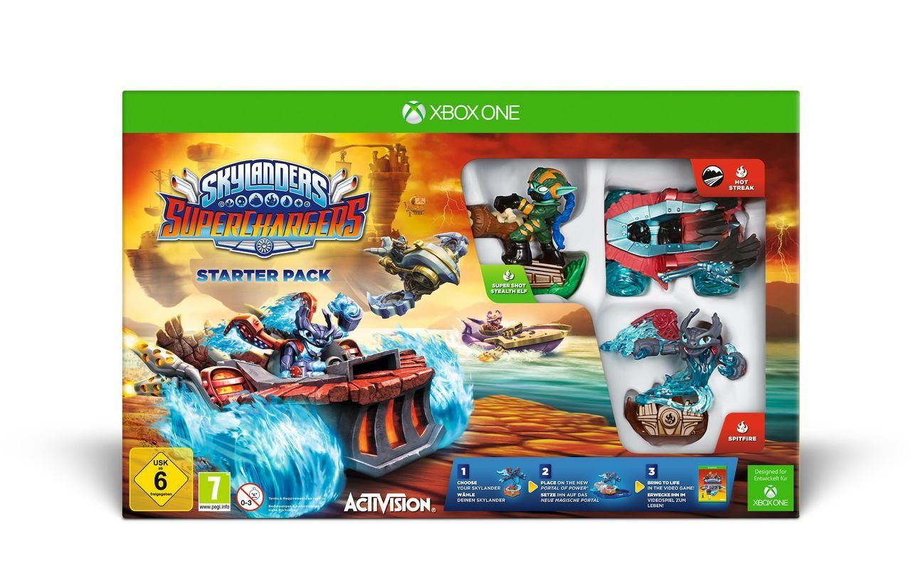 Activision XBOX One - Spiel »Skylanders SuperChargers Starter Pack«