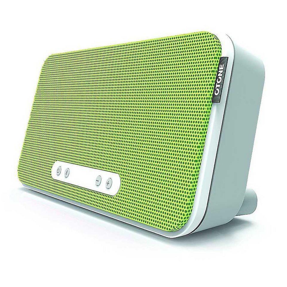 O Tone Bluetooth Lautsprecher »BluWall+« in grün