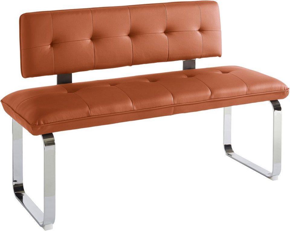 Steinhoff Sitzbank, Breite 140 oder 160 cm in caramell