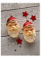 Thüringer Glasdesign Set: TGS-Christbaumschmuck Santa Gesicht »Advent« (2tlg.), Bild 2