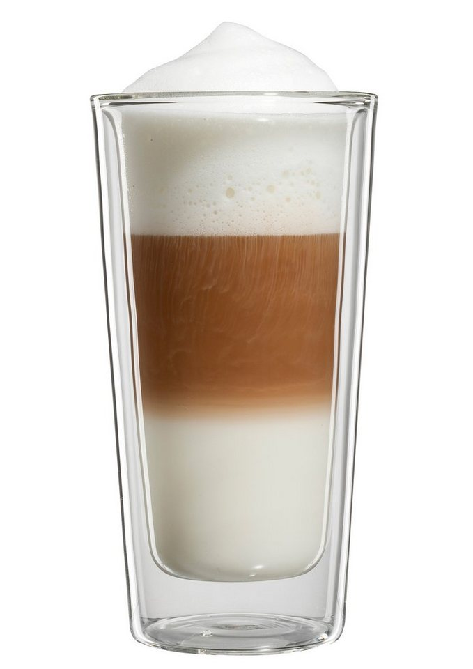 bloomix Latte Macchiato-Glas, 4er Set, »Milano Grande« in transparent