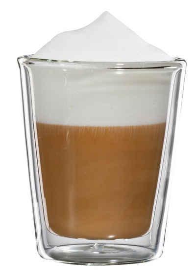Bloomix Thermoglas »Milano«, Glas, Doppelwandig, 4-teilig
