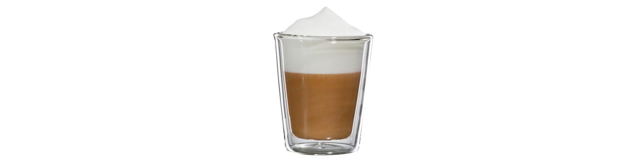 bloomix Cappuccino-Glas, 4er Set, »Milano«, 200 ml