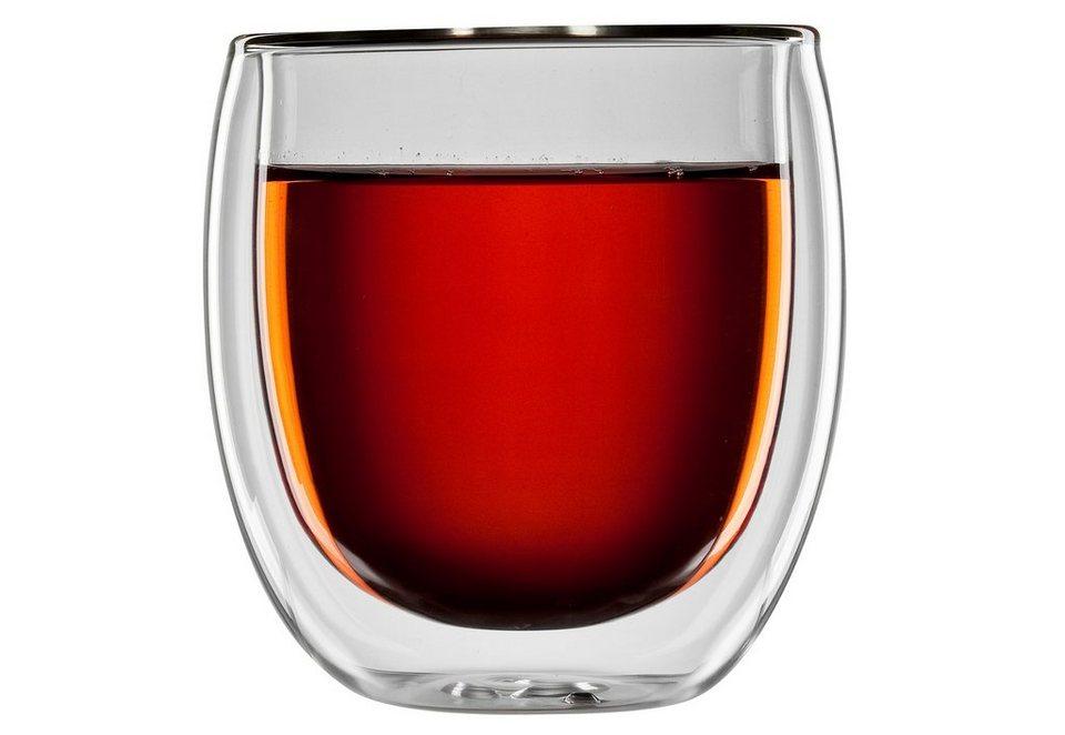 bloomix Teeglas, 4er Set, »Tanger«, 300 ml in transparent