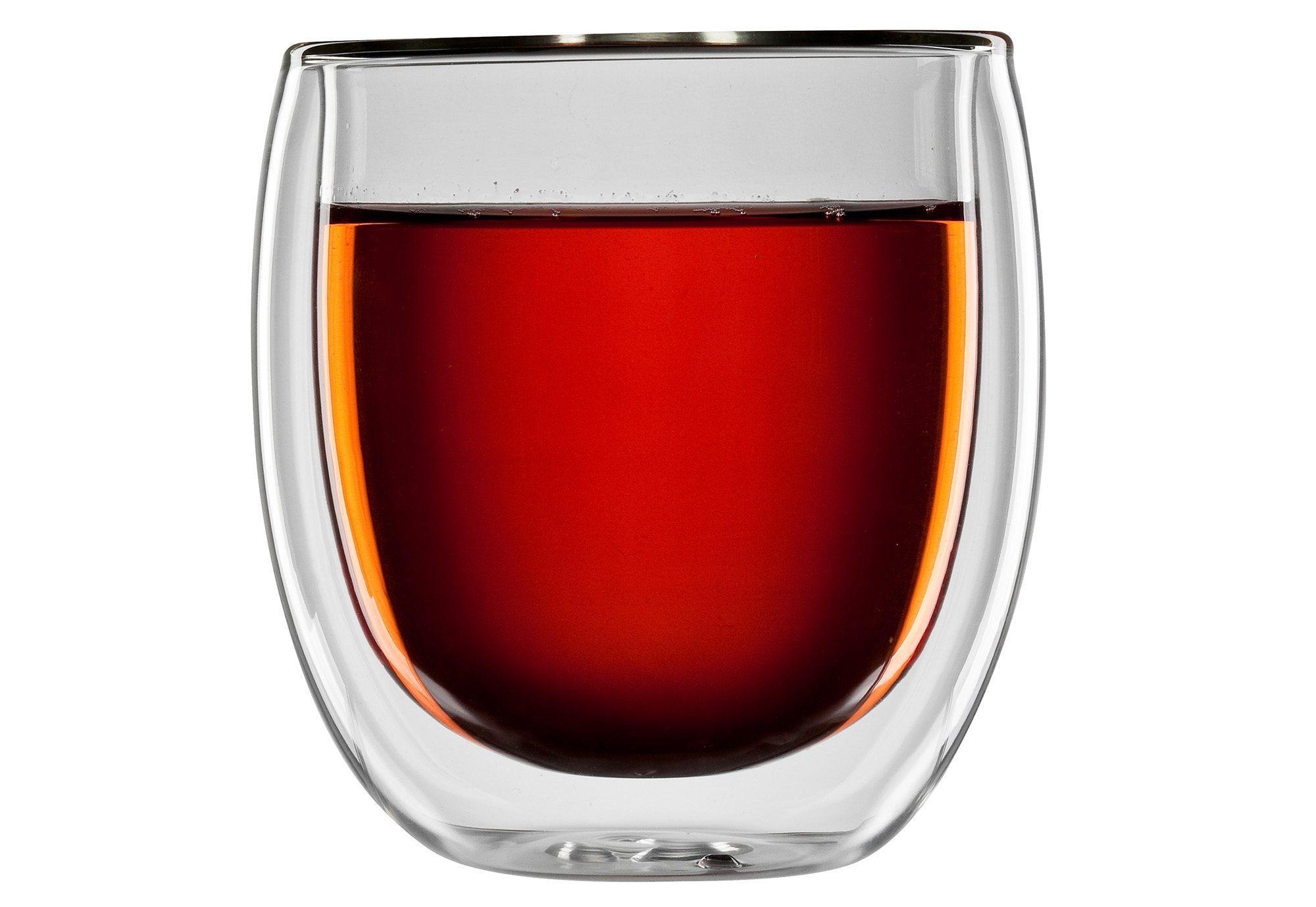 bloomix Thermoglas für Tee, 4er Set, »Tanger«, 300 ml