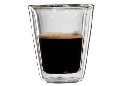Bloomix Espressoglas »Milano«, Glas, Doppelwandig, 4-teilig