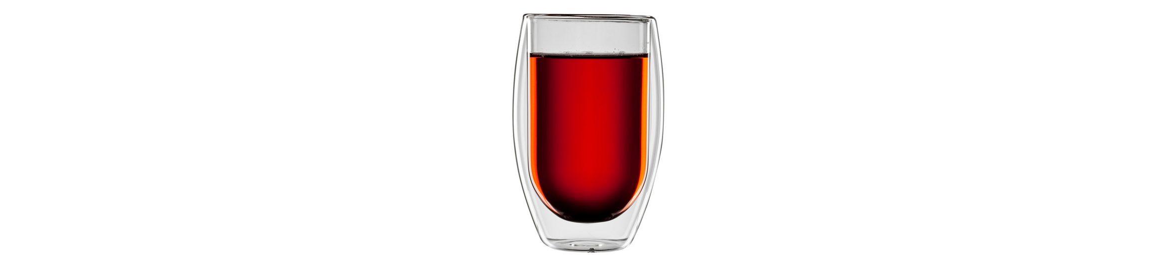 bloomix Teeglas, 4er Set, »Tetouan«, 400 ml