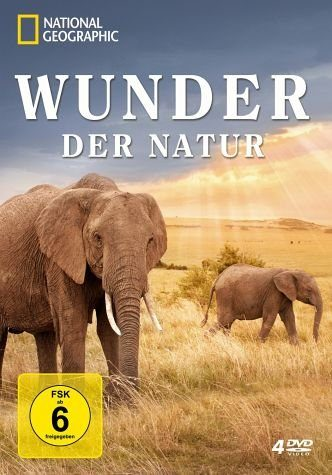 DVD »National Geographic - Wunder der Natur (4 Discs)«