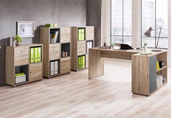 Schildmeyer Schreibtisch »Korpio«, mit Seitenregal