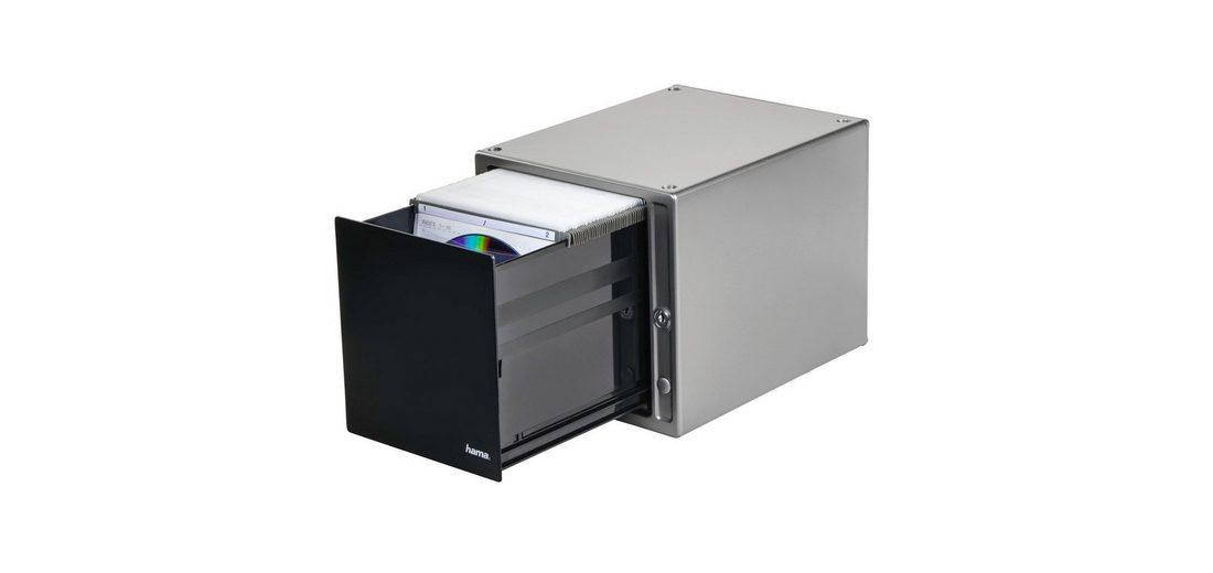 Hama CD-/DVD-/Blu-ray-Box Magic Touch 80, Silber