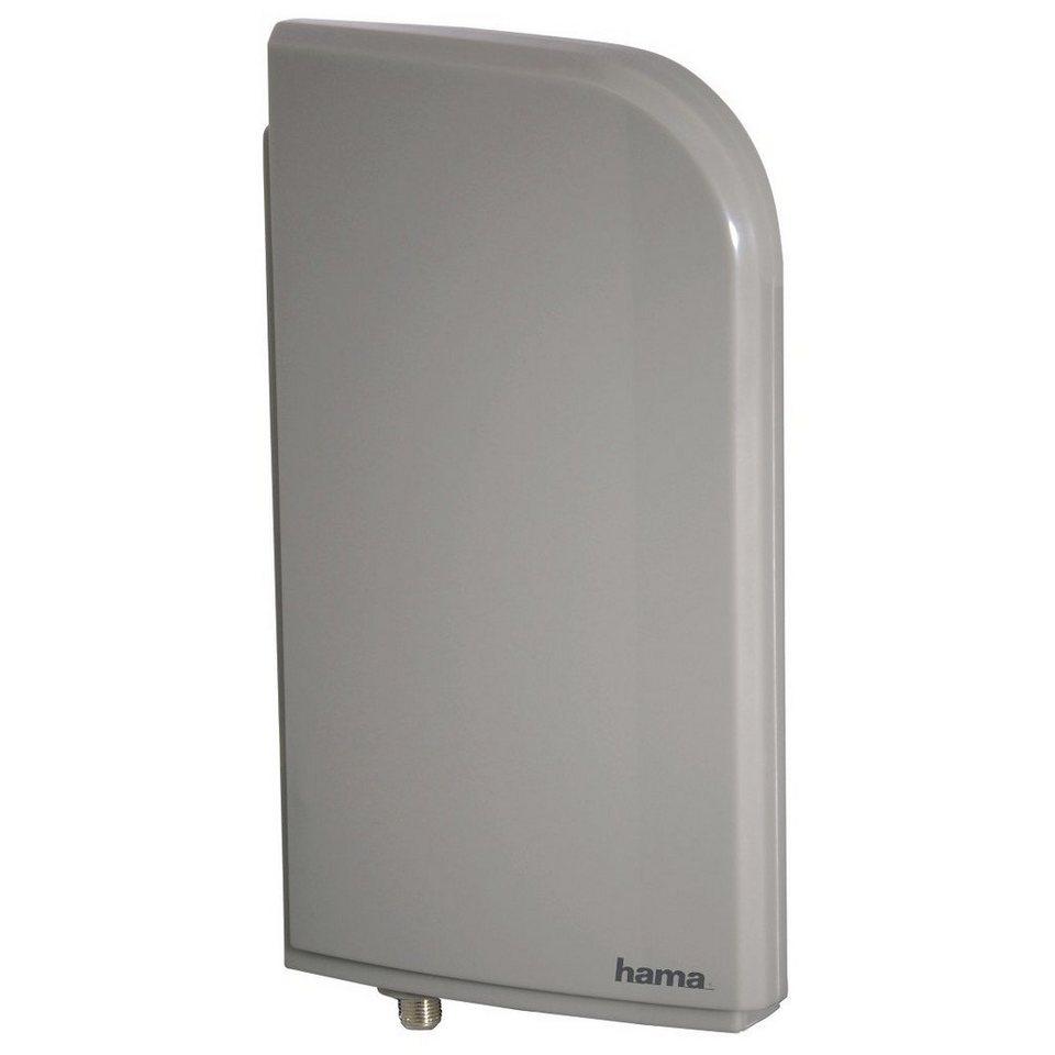 Hama DVB-T/DVB-T2 Zimmerantenne Outdoor, 20 dB Verstärkung »für TV und Radio« in Silber