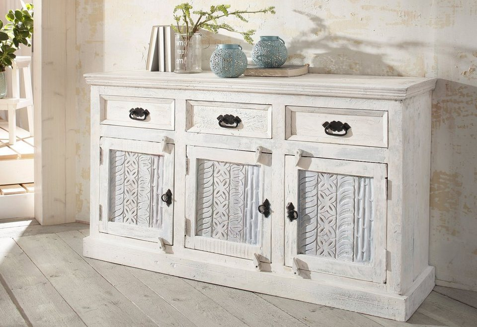 sit sideboard white 140 cm breit online kaufen otto. Black Bedroom Furniture Sets. Home Design Ideas
