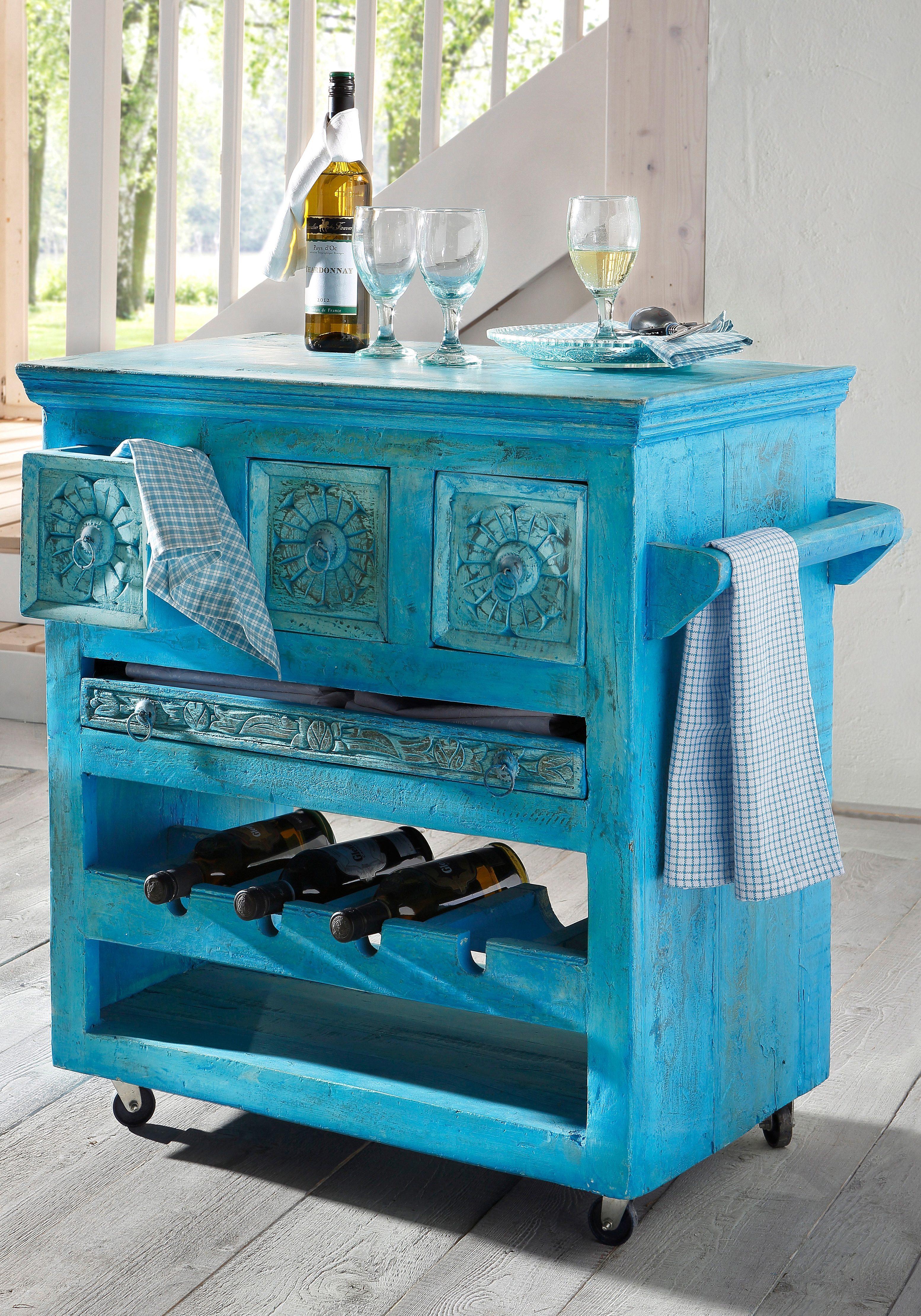 SIT Küchenwagen »Blue« mit 3 Schubladen