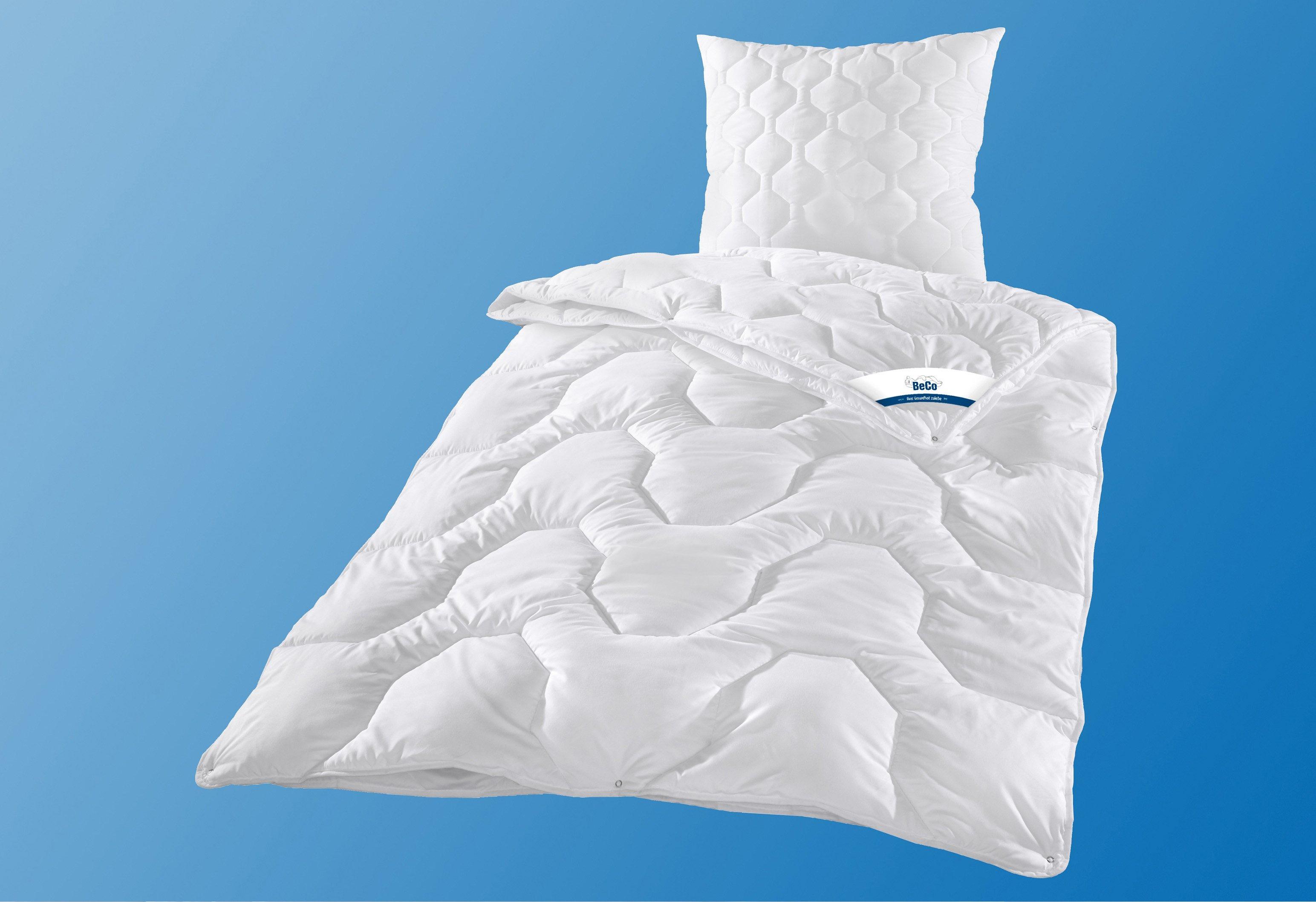 Bettdeckenset, »Cotton 95«, BeCo, 4-Jahreszeiten, Leichtdecke gratis, kochfest | Heimtextilien > Decken und Kissen > Bettdecken | Beco