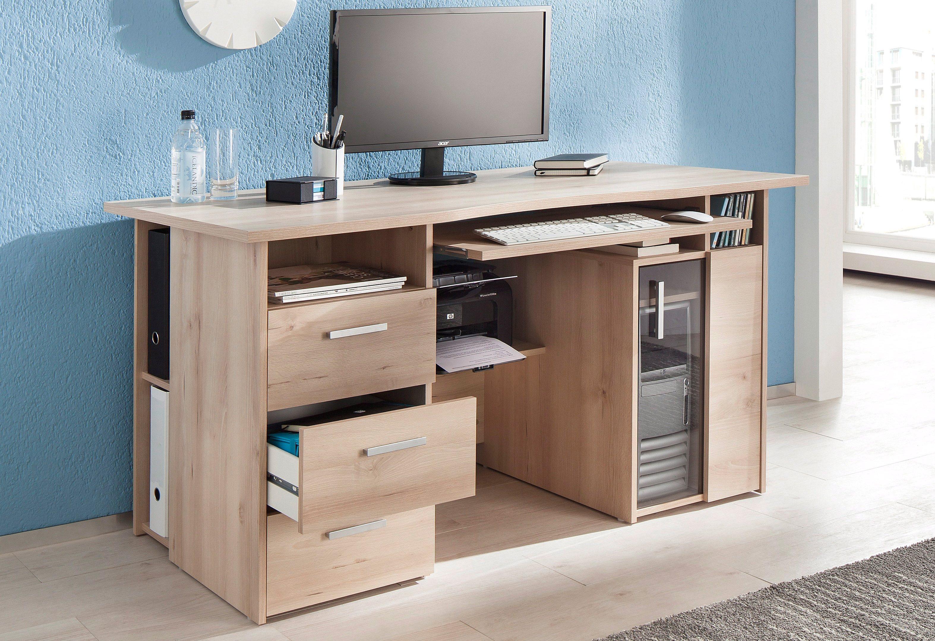 Maja Möbel Computertisch »Heide«, mit Tastaturauszug und Druckerfach | Büro > Bürotische > Computertische | Abs - Kunststoff - Melamin | Maja Möbel