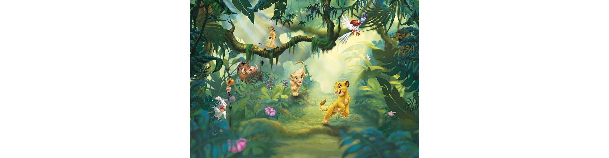 Komar, Papiertapete, » Lion King Jungle«, 368/254 cm