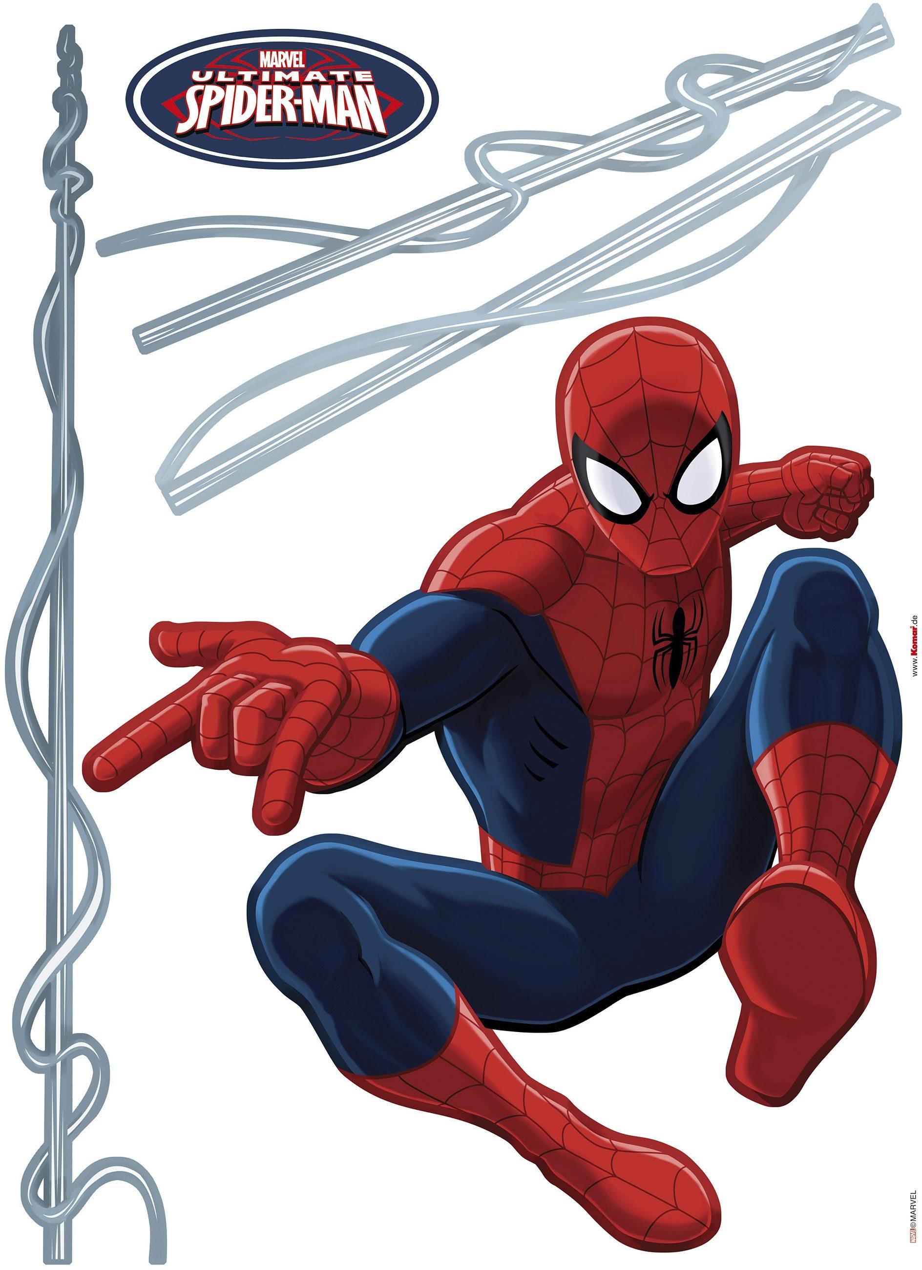 Komar, Wandtattoo, »Spider-Man«