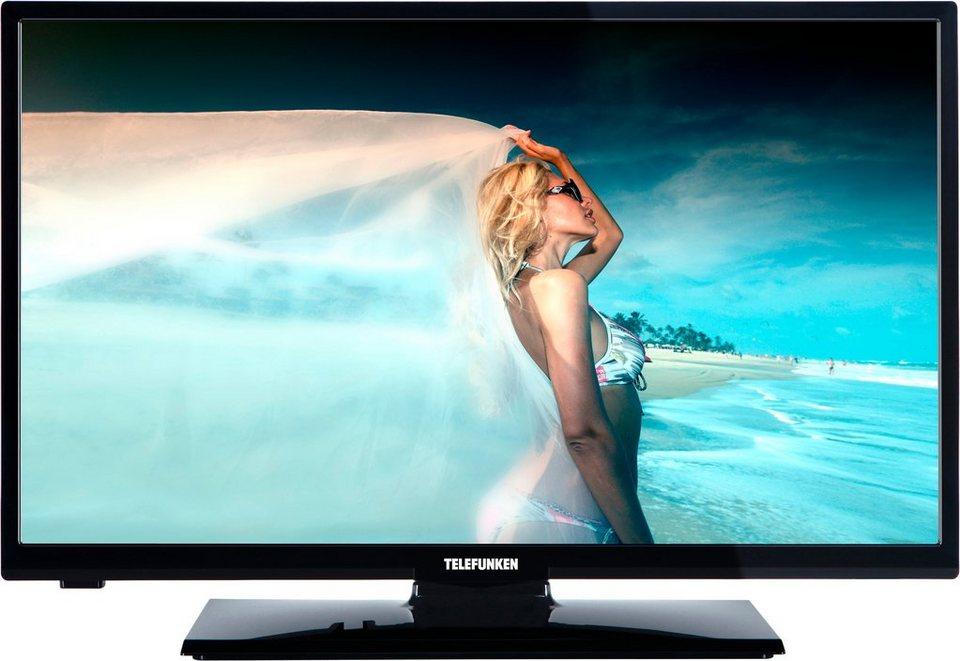Telefunken L28H272M3, LED Fernseher, 72 cm (28 Zoll), HD-ready 720p in schwarz