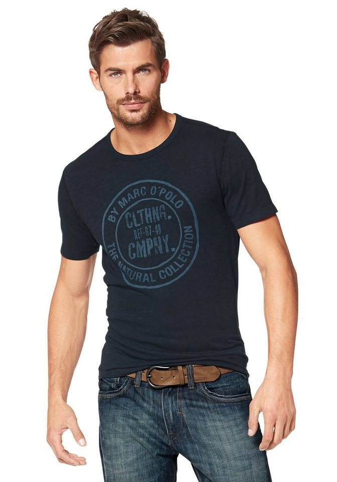 Marc O'Polo T-Shirt in midnight-blue