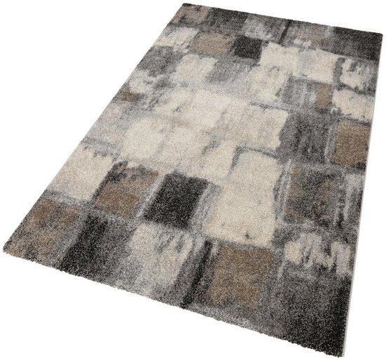 Teppich »ELEGANT MOSAIC«, merinos, rechteckig, Höhe 18 mm