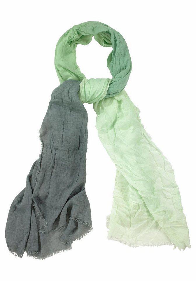 Passigatti Modeschal »im Farbverlauf« in mint