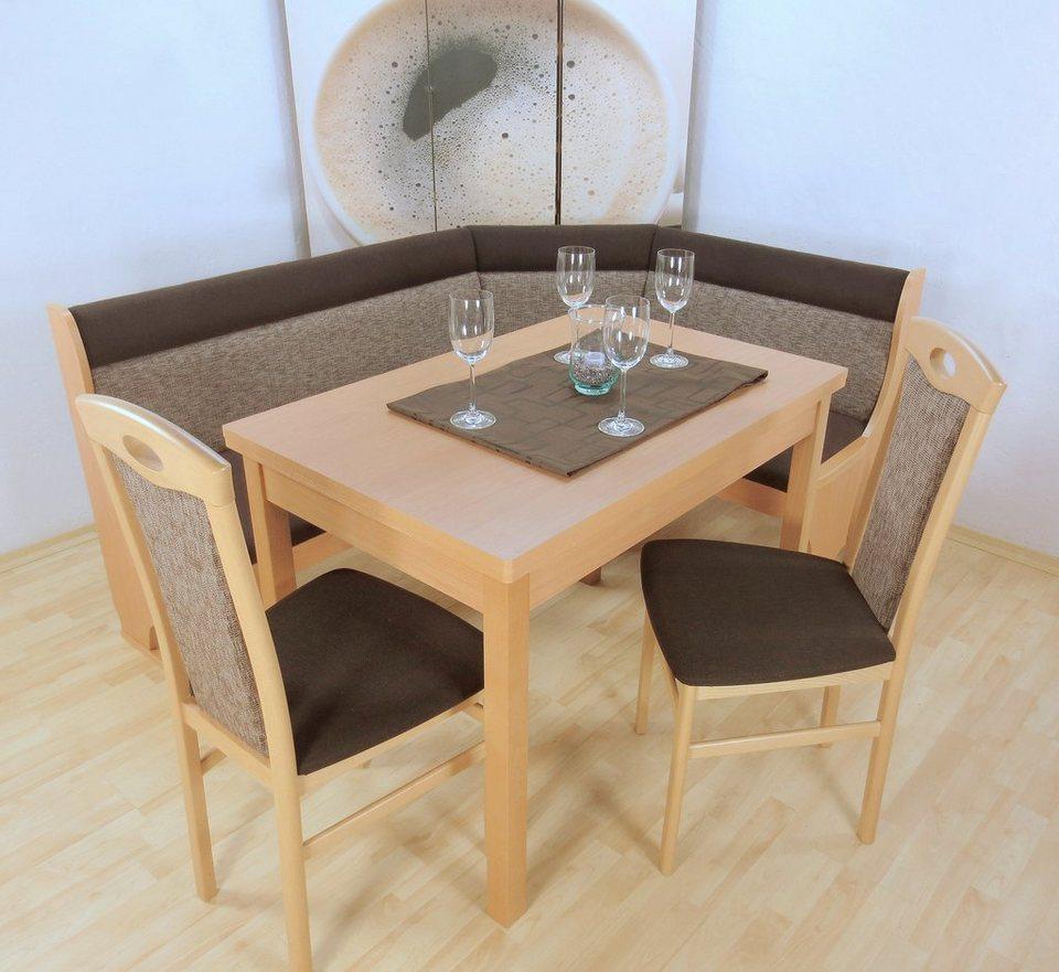 eckbankgruppe 4 tlg schenkel wechselbar kaufen otto. Black Bedroom Furniture Sets. Home Design Ideas