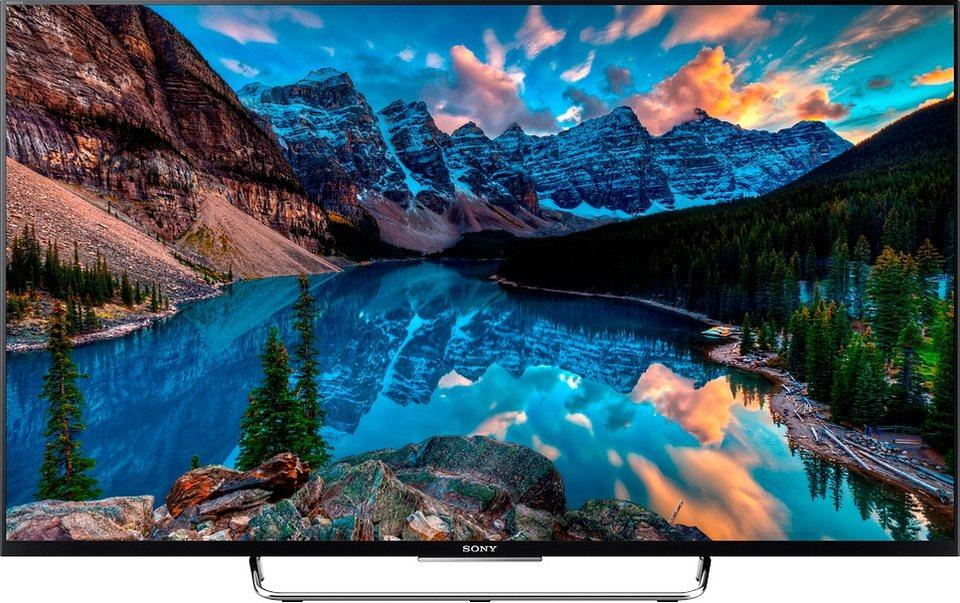 Sony BRAVIA KDL-50W805C, LED Fernseher, 126 cm (50 Zoll), 1080p (Full HD), Smart-TV in schwarz