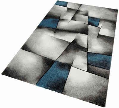 Teppich Merinos BRILLIANCE Handgearbeiteter Konturenschnitt