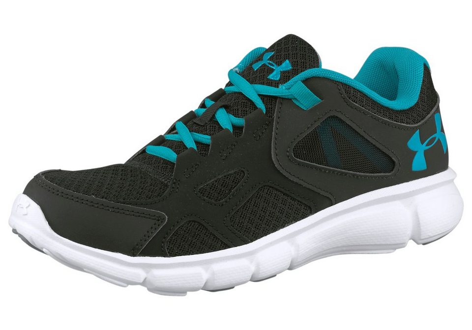 Under Armour® UA Womens Laufschuh in Schwarz