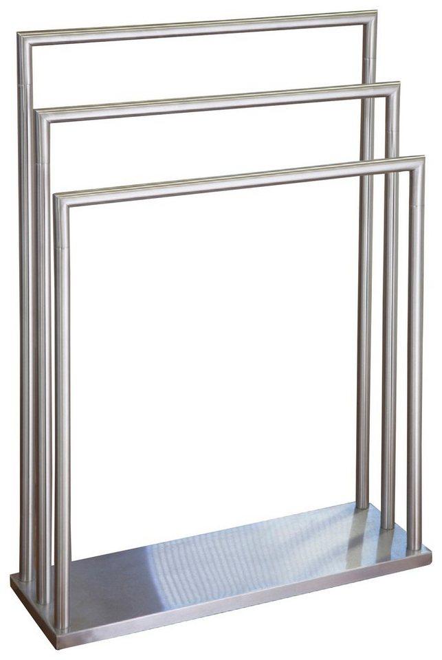 Handtuchständer ggg möbel handtuchständer waldi mit 3 stangen otto