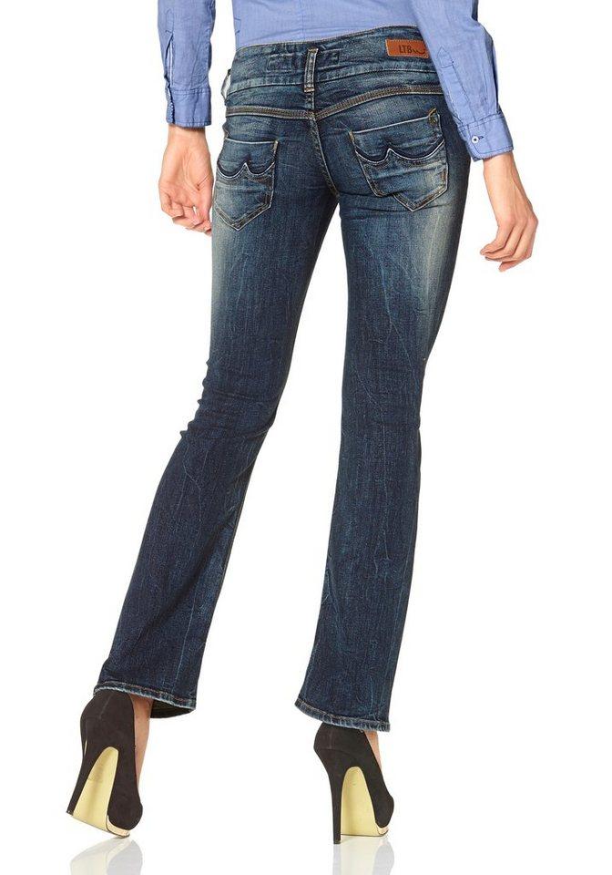LTB 5-Pocket-Jeans »Josephine« Leicht ausgestellt in dirty