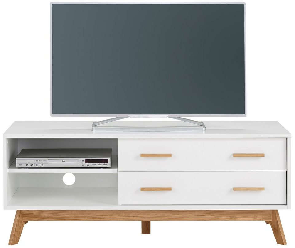 andas lowboard kensal white breite 130 cm otto. Black Bedroom Furniture Sets. Home Design Ideas
