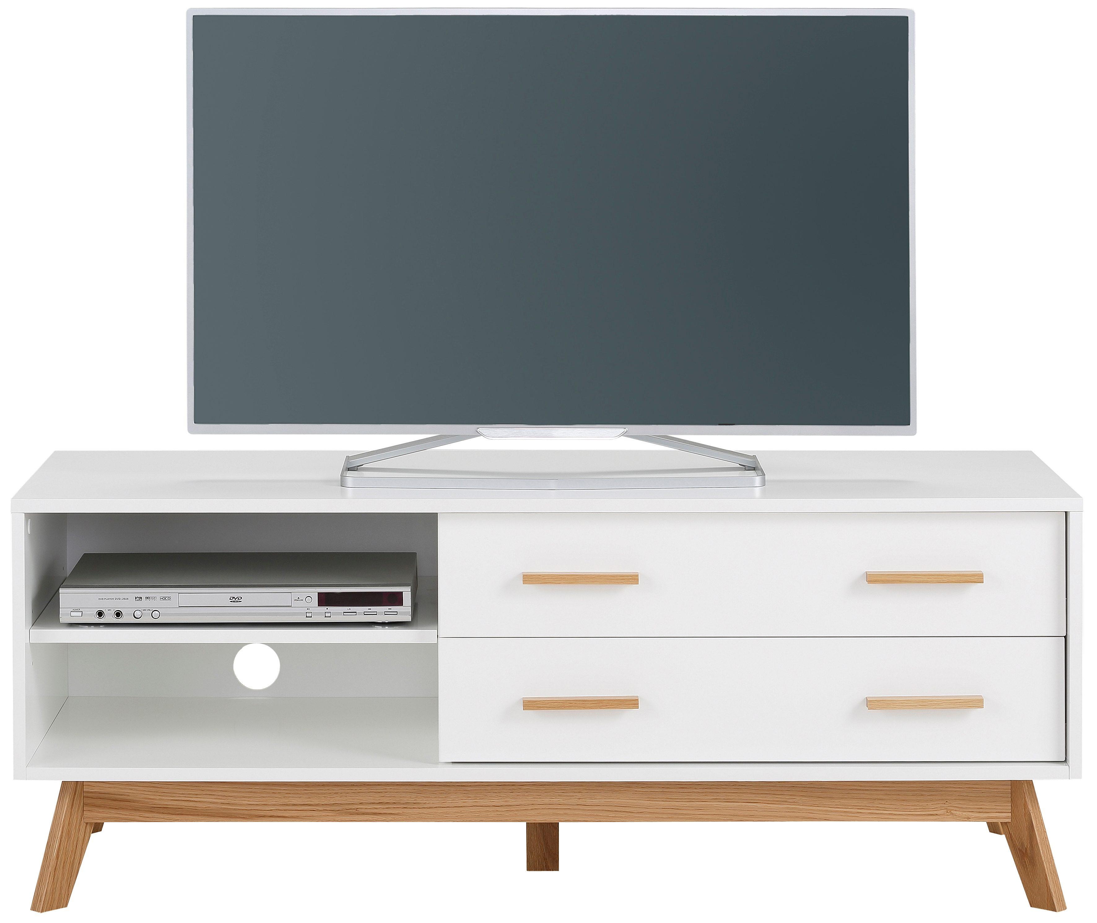 andas Lowboard »Kensal white«, Breite 130 cm