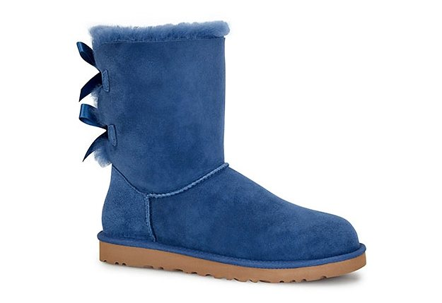 UGG »Bailey Bow« Stiefel in blau