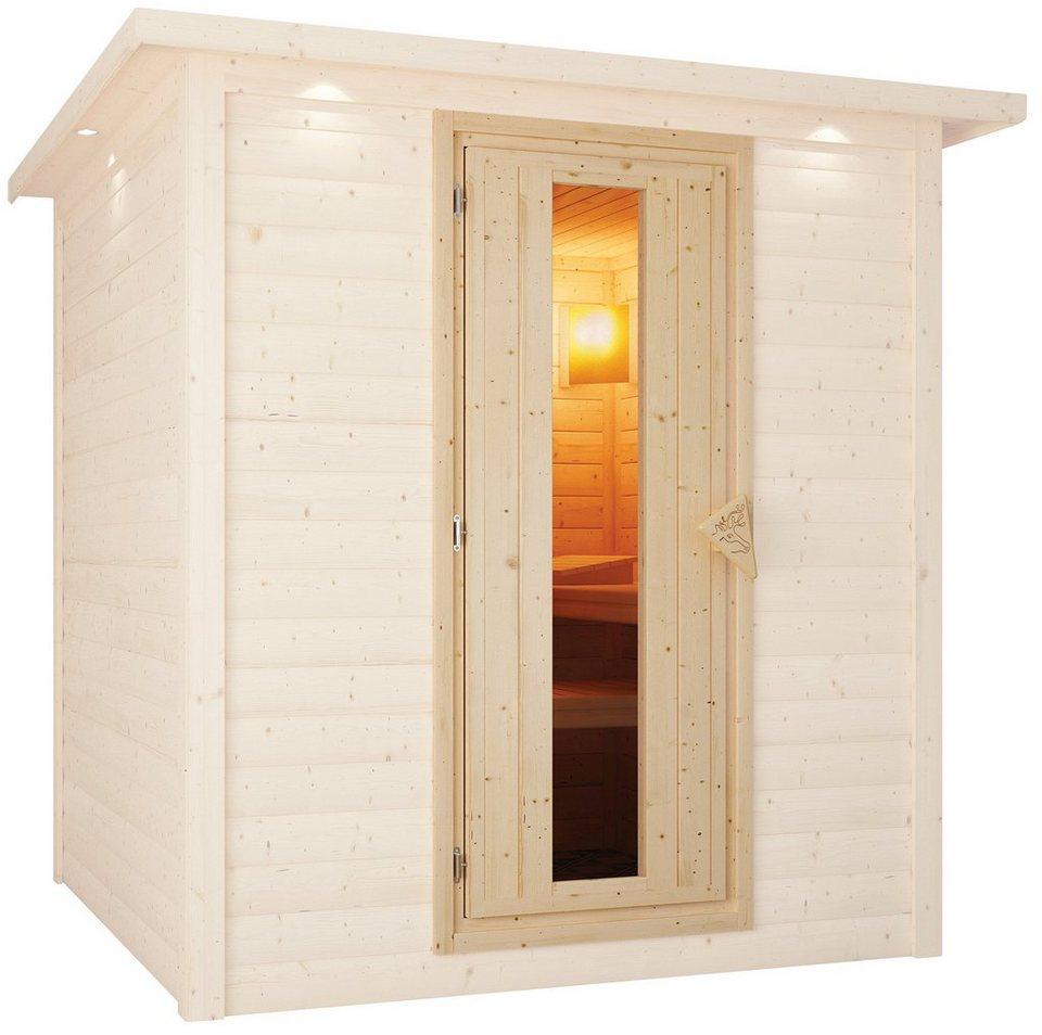 Karibu Saunatür , für 68 mm Sauna, BxH: 64x173 cm in natur