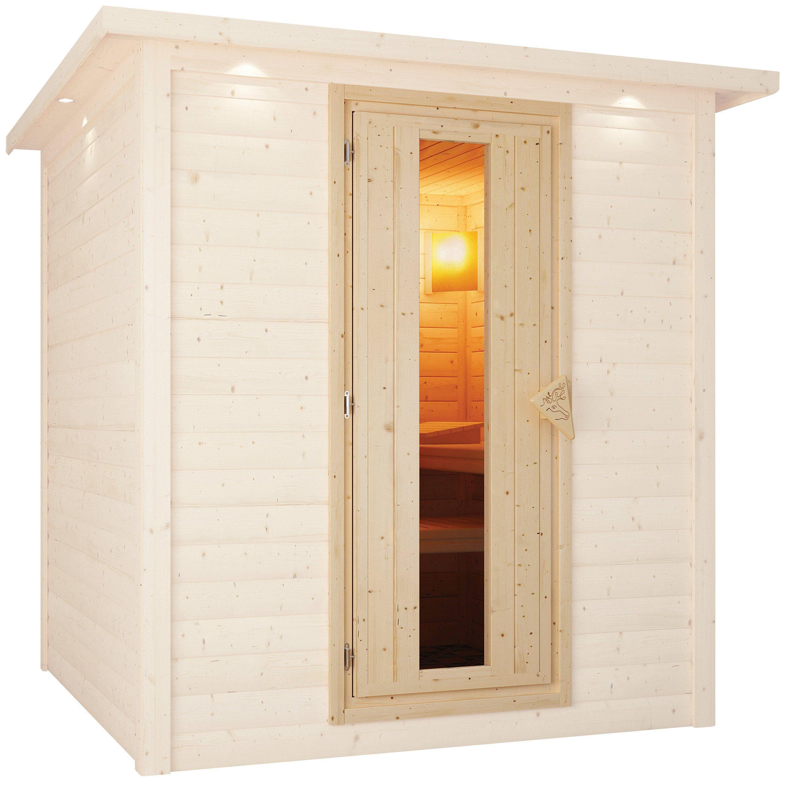 KARIBU Saunatür , für 68 mm Sauna, BxH: 64x173 cm