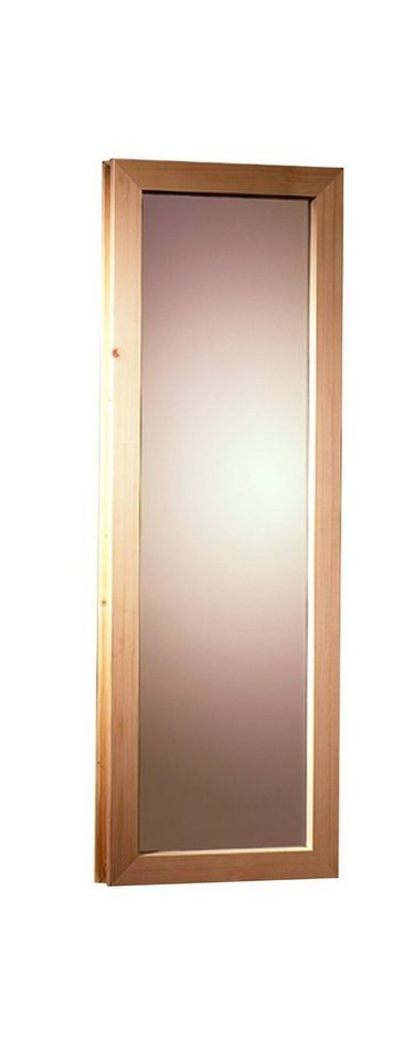 Saunafenster, für Fassauna, BxH: 25x60 cm in natur
