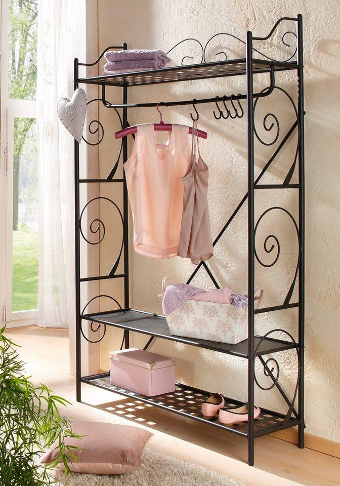 Garderobenleisten und Haken - Home affaire Garderobe »Princess«  - Onlineshop OTTO