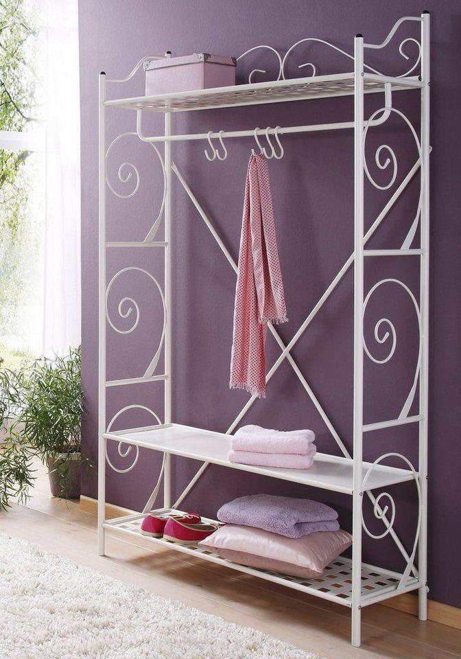 Home affaire Garderobe »Princess« in weiß