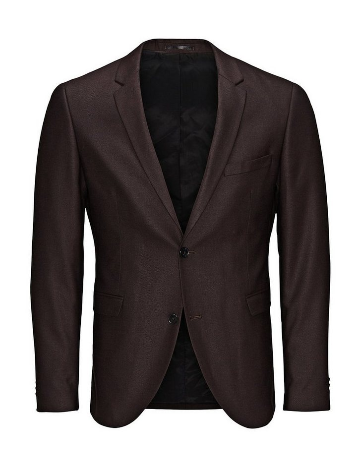 Jack & Jones Eleganter Slim Fit- Blazer in Port 2