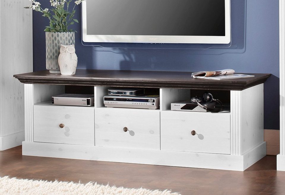 tv lowboard home affaire skanderborg breite 145 cm online kaufen otto. Black Bedroom Furniture Sets. Home Design Ideas