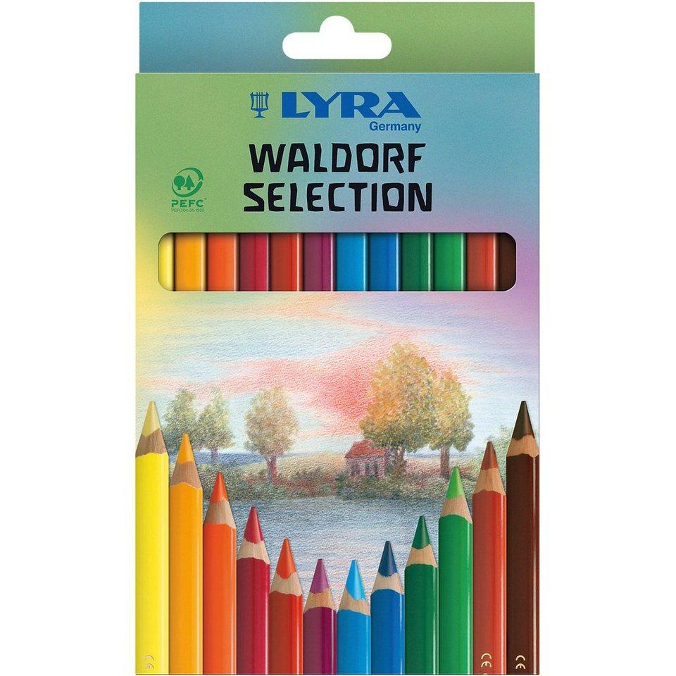 LYRA Buntstifte Waldorf Selection, 12 Farben, lackiert