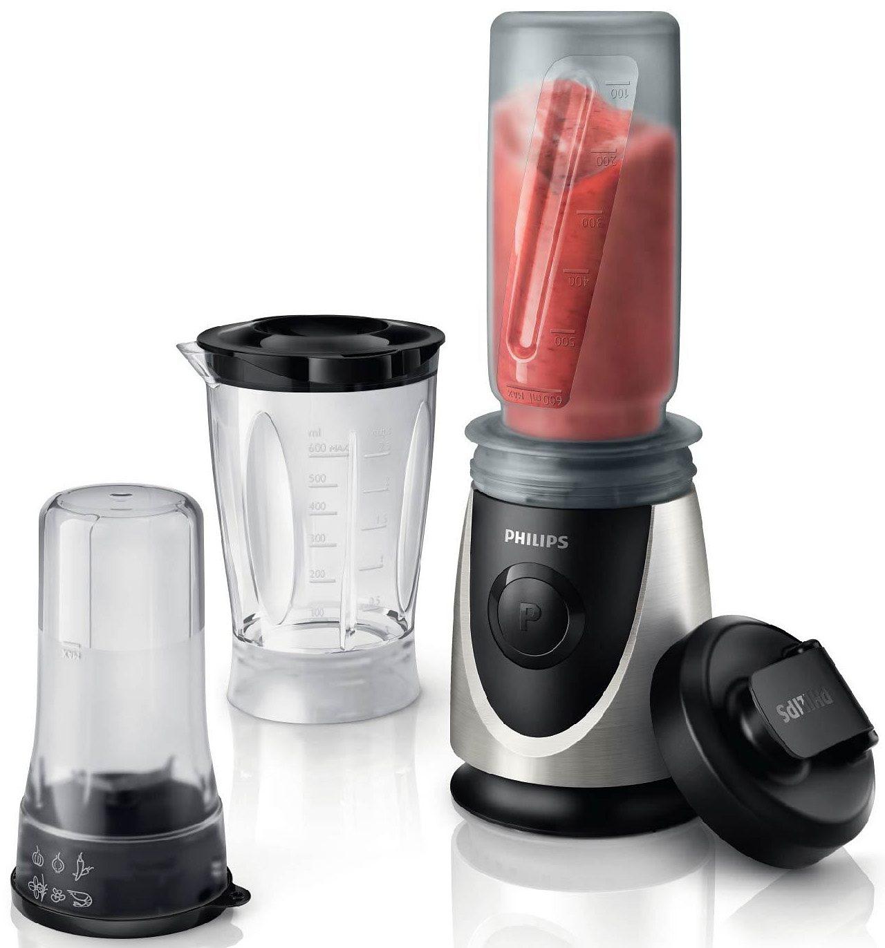 Philips Standmixer HR2876/00, 350 Watt, mit 2 Gratis Trinkflaschen (Wert 22,-€) nach Onlineregistrierung