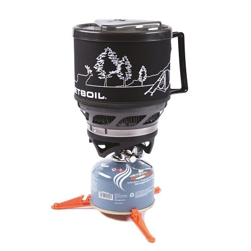 Jetboil Kocher »Jetboil MiniMo« in carbon w/line art
